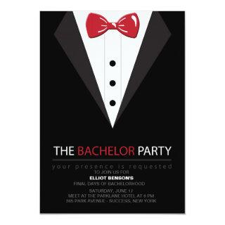 The Bachelor Party Invitations