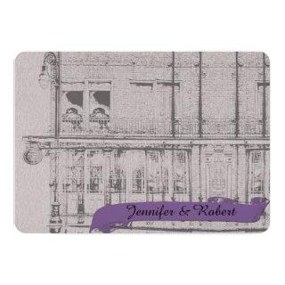 The Big Easy Wedding Invitations