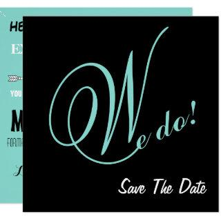 The Happy Couple We Do Save the Date Announcements