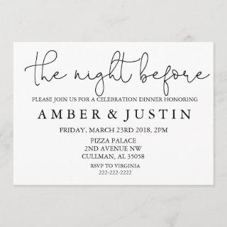 The Night Before | Invitation