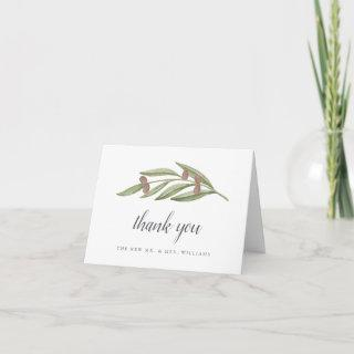 The Olive Branch Wedding Collection Thank You Card