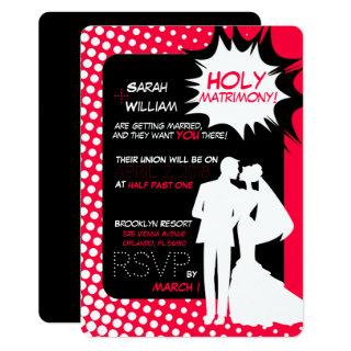 The superpowers of matrimony! Invitations