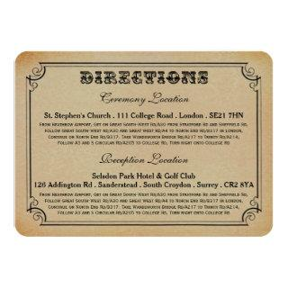 The Victorian Steampunk Wedding Collection Invitations