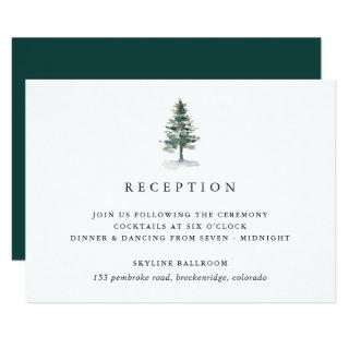 Timber Grove Reception Enclosure Card