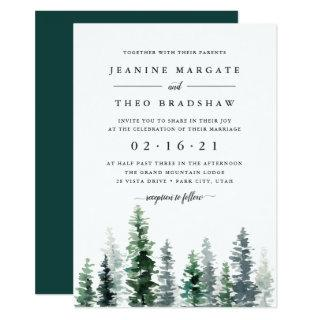 Timber Grove | Wedding Invitations