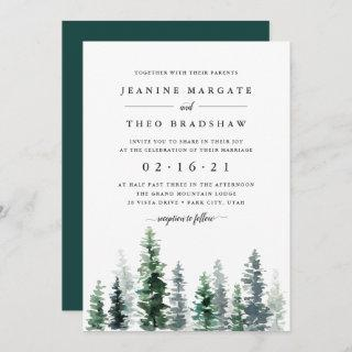 Timber Grove | Wedding Invitation