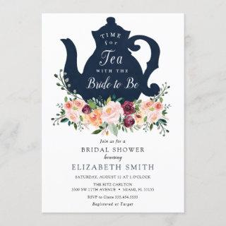 Time for Tea Bridal Shower Invitations
