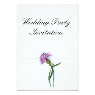 Traditional Scottish and Celtic Wedding Thistle Th Invitations