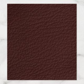 Trendy Faux Leather Wedding Invitation Liner