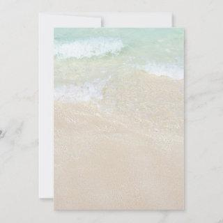Tropical Ocean Beaches Blank Printable Paper