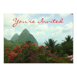 Tropical Paradise Invitations