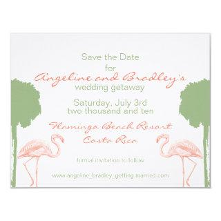 "Tropical ""Save the Date"" Invitations"