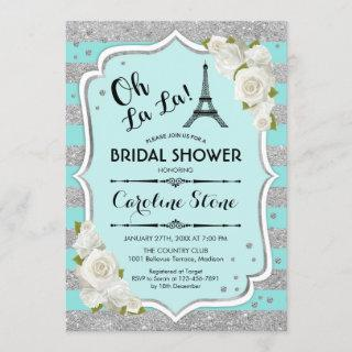 Turquoise French Style Bridal Shower