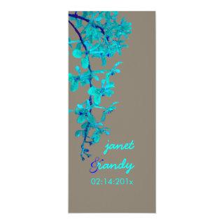 TURQUOISE ORCHIDS/RENANTHERA/DIY color Invitation