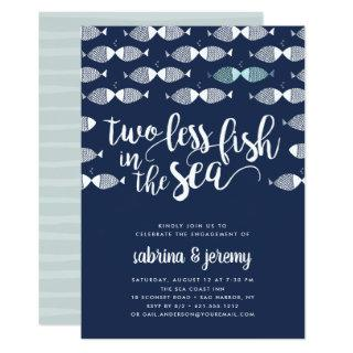 Two if By Sea | Engagement Party Invitation