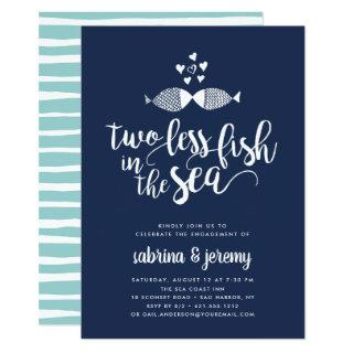 Two if By Sea | Engagement Party Invitations