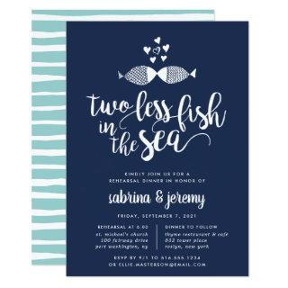 Two if By Sea | Rehearsal Dinner Invitations