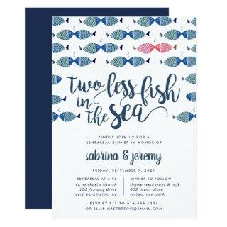 Two if By Sea | Rehearsal Dinner Invitation