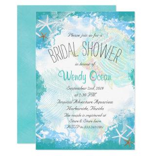 Under the Sea Bridal Shower Invitation