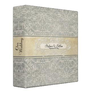 Vintage French Regency Lace Photo Binder Wedding