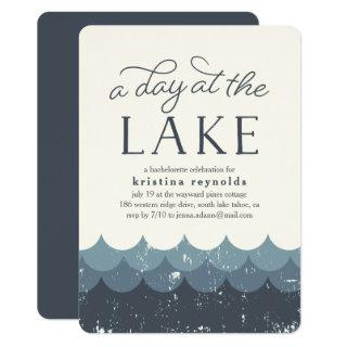 Vintage Waves | Day at the Lake Invitations