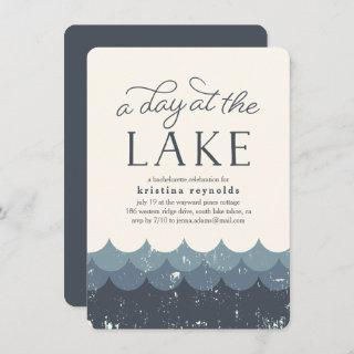 Vintage Waves | Day at the Lake Invitation