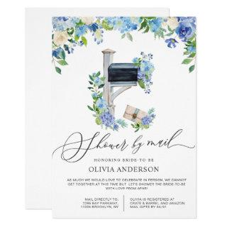 Watercolor Hydrangea Virtual Bridal Shower by Mail Invitations