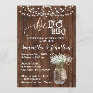 We do bbq couples shower country wedding Invitations