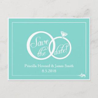We Do! Save The Date Announcement Postcard