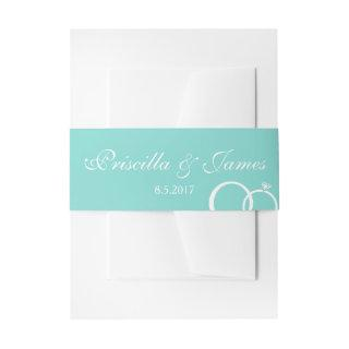 We Do Wedding Invitations Belly Band