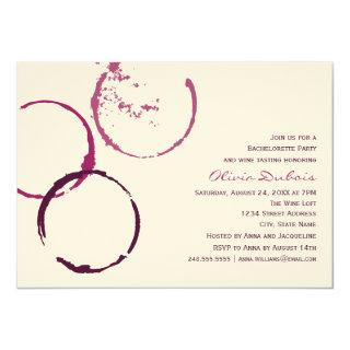 Wedding Bachelorette Party | Red Wine Theme Invitations