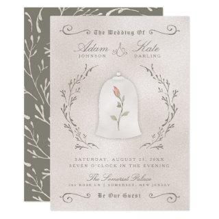 WEDDING Invitations | Elegant Rose of Beauty