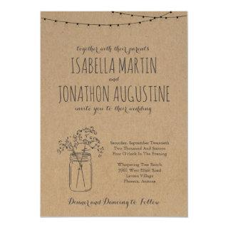 Wedding Invitations | Rustic Kraft