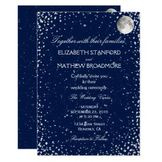 Wedding Invitations | Starry Night Moon