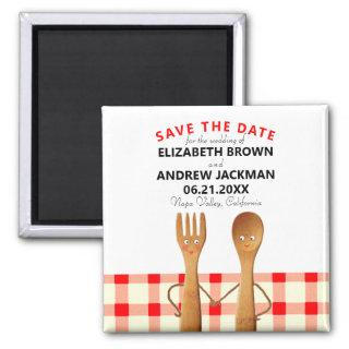 wedding save the date magnet