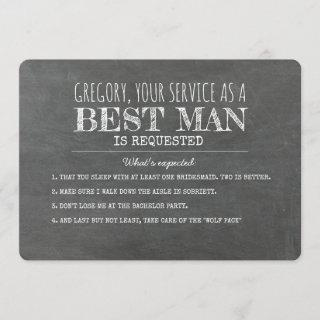 What Is Expected - Funny Best Man Proposal