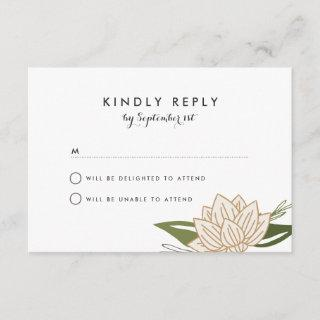White Lotus Wedding RSVP