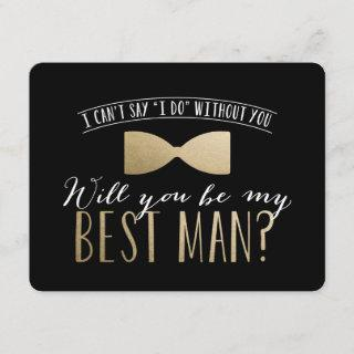 Will you be my Best Man? | Groomsmen Invitations