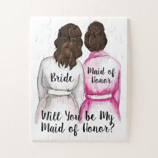 Will You be My Maid of Honor Puzzle Wedding