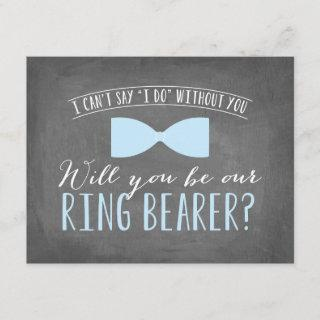 Will you be my Ring Bearer ? | Groomsmen Invitations