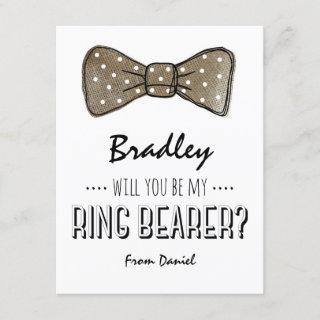 Will You Be My Ring Bearer? | Rustic Wedding Invitations