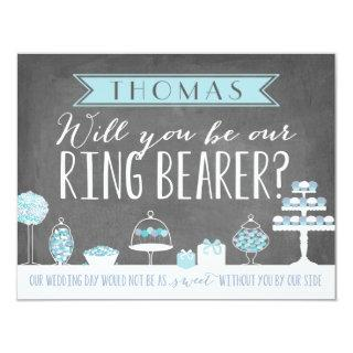 Will You Be Our Ring Bearer | Groomsman Invitation