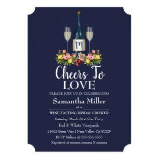 Winery Or Wine Bridal Shower Invitations