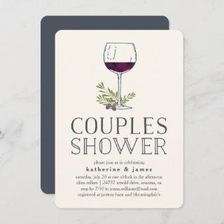 Winery or Wine Tasting Couples Shower