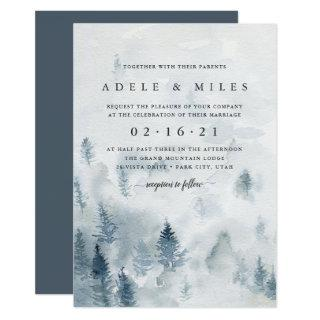 Winter Reverie Wedding Invitation