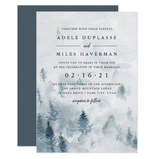 Winter Reverie Wedding Invitations