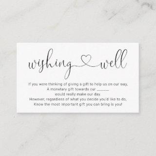 Wishing Well for Wedding Invitation - Simple